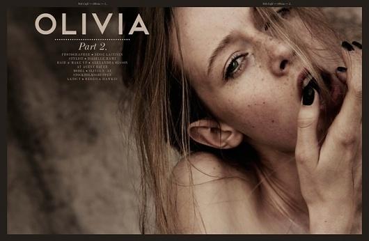 Olivia part 2   Volt Café   by Volt Magazine #beauty #design #graphic #volt #photography #art #fashion #layout #magazine #typography