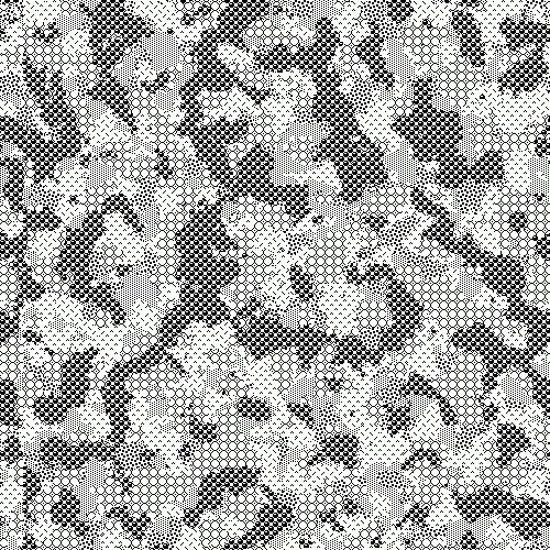 Camouflage Patterns Rendered with MacPaint Patterns – Sulki & Min #pattern