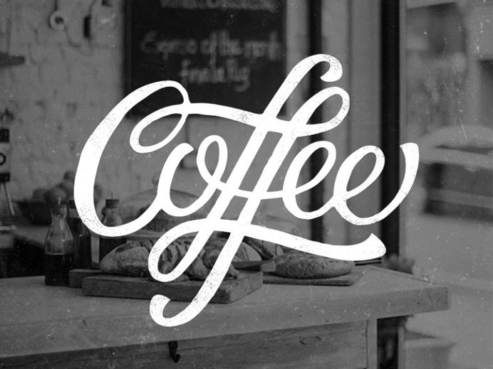 Coffee – Lettering #coffee #lettering #hand #typography