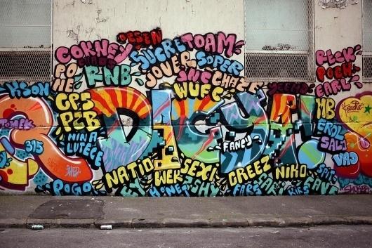 www.ilkflottante.com | Lifestyle & chai tea. #graffiti #tag #silk
