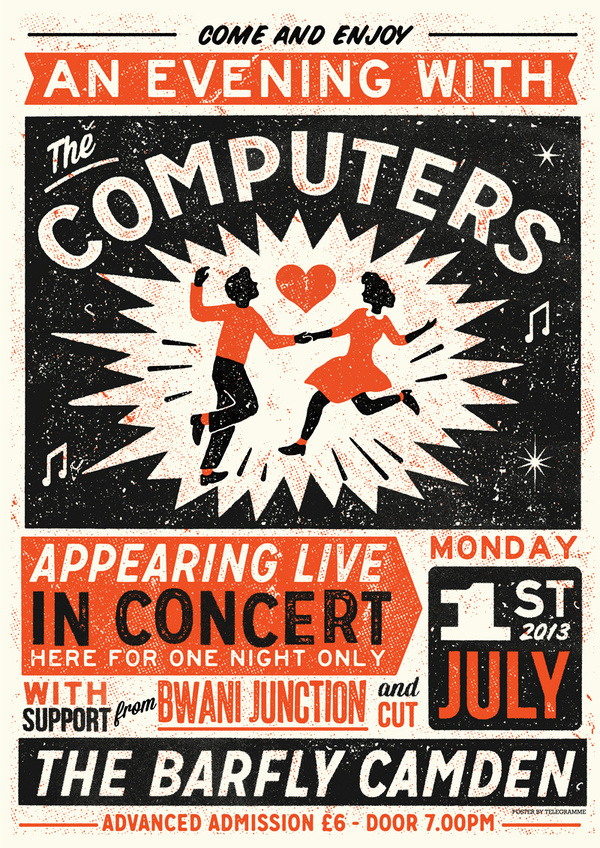 computers poster