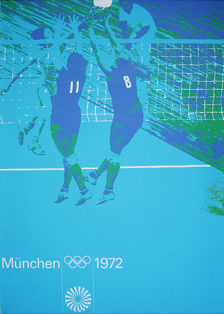1972 Munich Olympic Games Poster #olympic #games #munich #poster