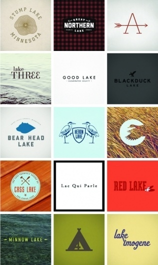 butter and brass: endless shoreline #logos #branding #duck #arrow #lake