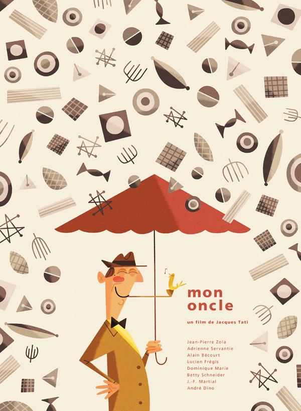 All sizes | Silver Screen Society Mon Oncle | Flickr Photo Sharing! #illustration