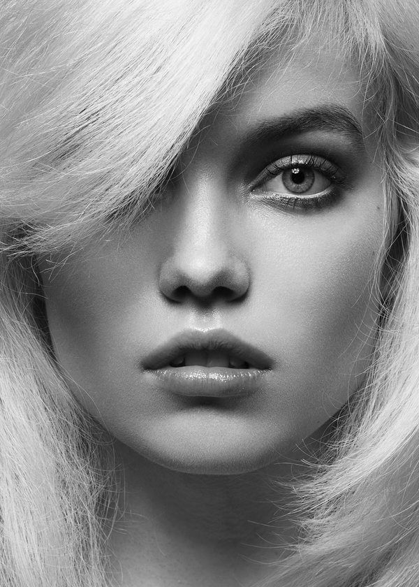 Elsa Holmgren #model #swedish #blonde #fashion #face #beauty