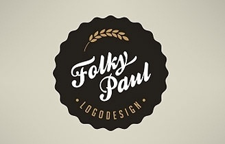 Logo Faves | Logo Inspiration Gallery #branding #design #folky #logo #paul