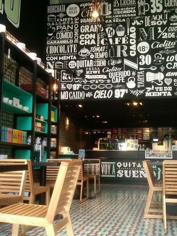 CIELITO Cafes, México City. Restaurant interior design by Ignacio Cadena & Héctor Esrawe #catering
