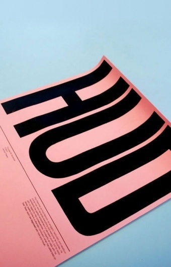AisleOne - Graphic Design, Typography and Grid Systems #white #pink #mike #poster #blue