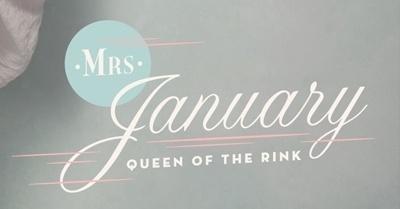 Calendar Girl on the Behance Network #calendar #design #army #typography