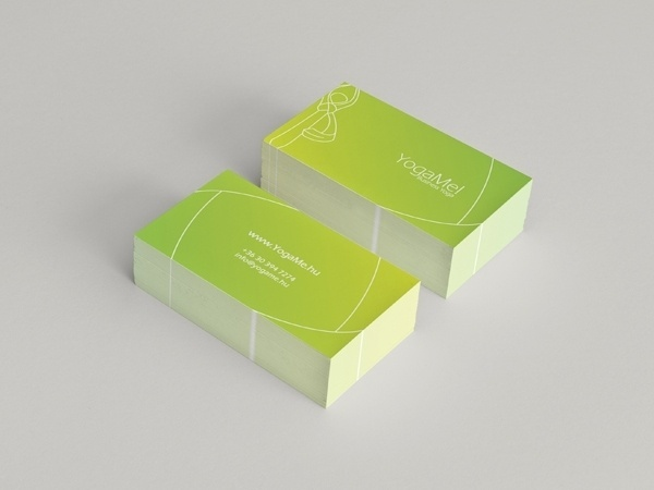 Yoga Me! on the Behance Network #business #branding #card #graphic #corporate #identity #yoga