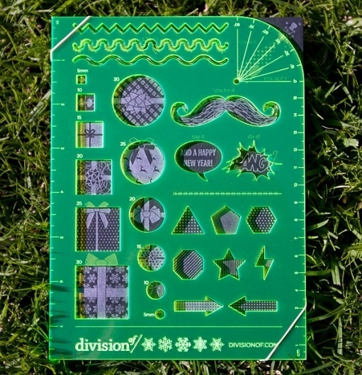 Division of… Holiday Measuring Card (NOTCOT)