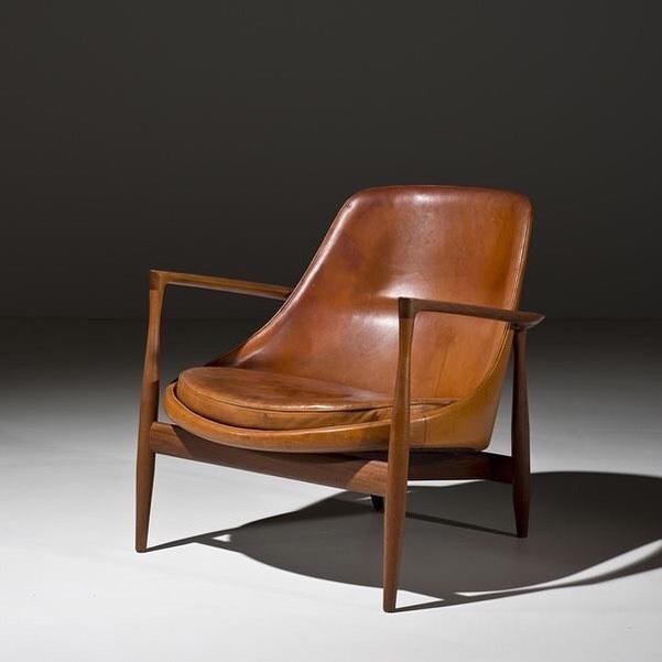 chair by Ib Kofoed-Larsen