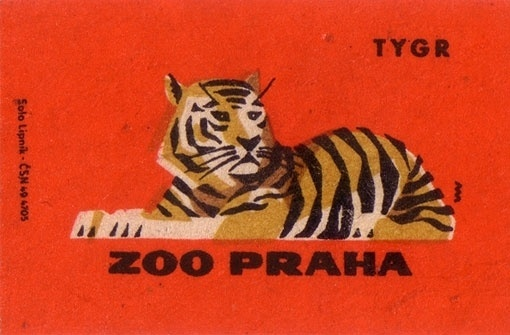 design work life » cataloging inspiration daily #labels #color #zoo #illustration #vintage #animals #tiger
