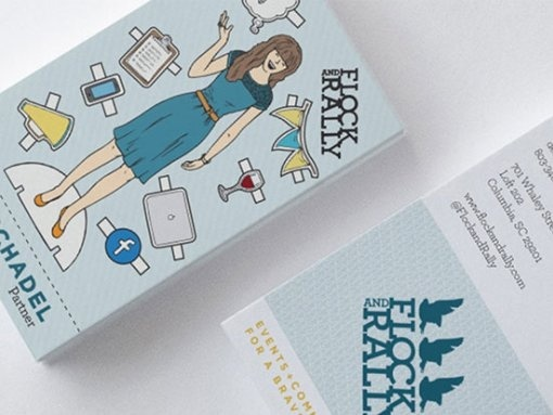Flock and Rally Business Cards