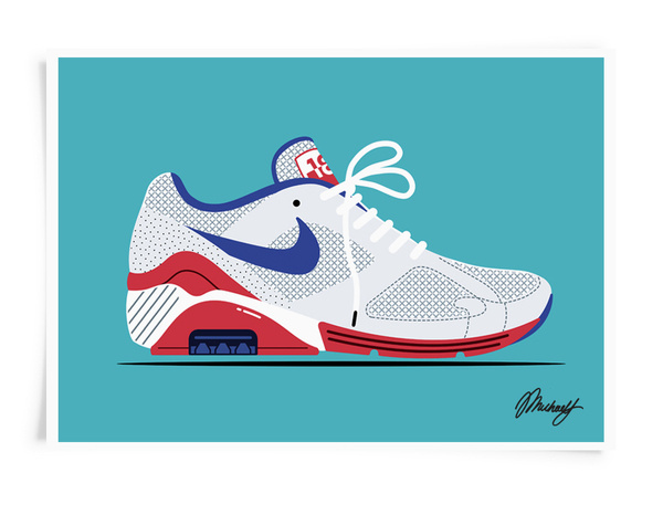 Nike Air Max 180 #pattern #arnold #nike #illustration #fashion #style #michael
