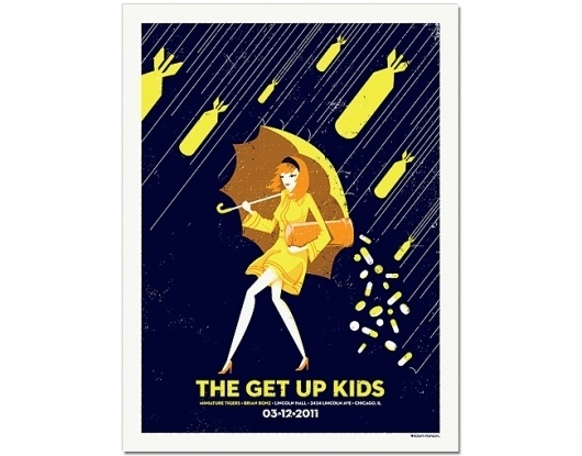Adam Hanson Design and Illustration #gig #poster