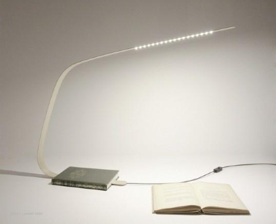 Bookmark Lamp in defringe.com #lamp #defringe #design #bookmark #product