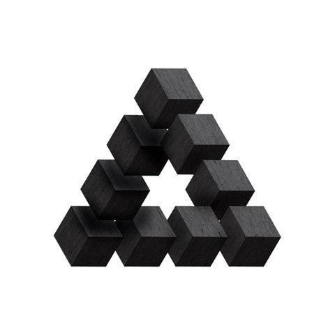 Formes Noires... curieuxdetrucs #triangle