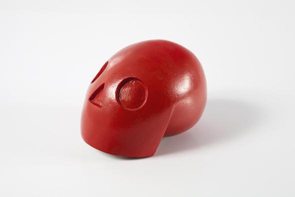 skull #skull #sculpture #red #toy