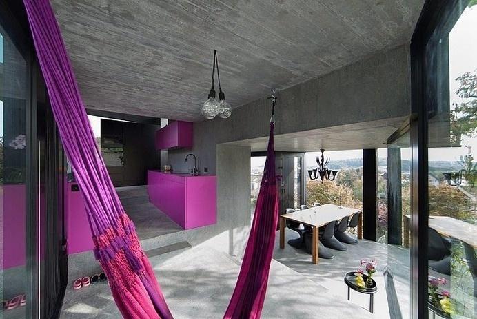 Trubel House by L3P Architekten successful architectural solution for difficult terrain - www.homeworlddesign. com (1) #interior #design #architecture