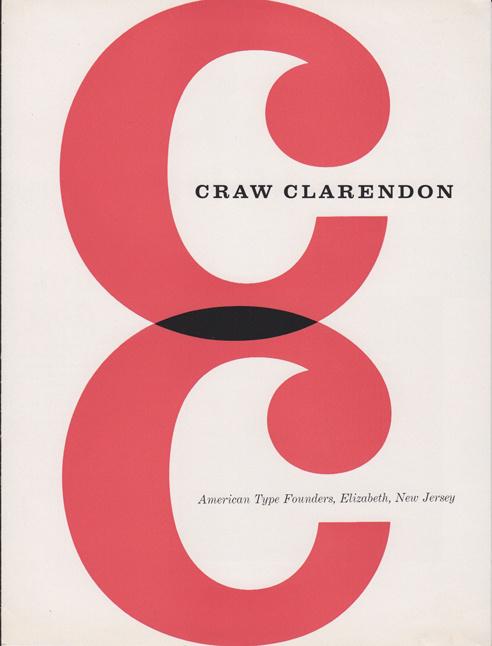Craw Clarendon specimen #type #specimen #typography
