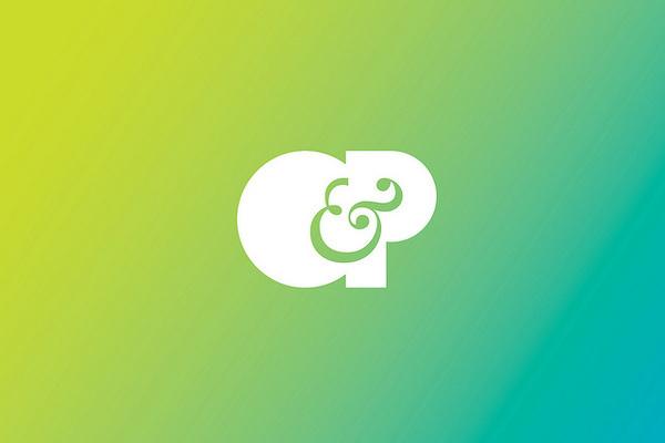 O&P #logo #design #identity #branding