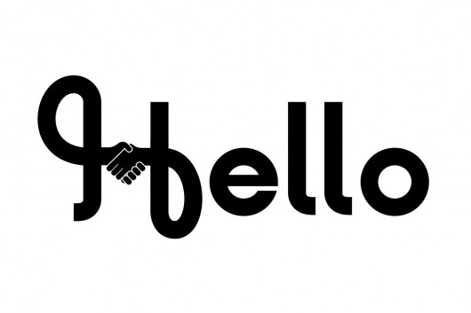 The Phraseology Project - Hello #melton #drew #hello #phraseology #type #typography