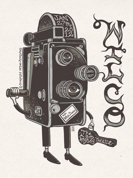 Wilco by Jim Mazza #mazza #camera #illustration #jim