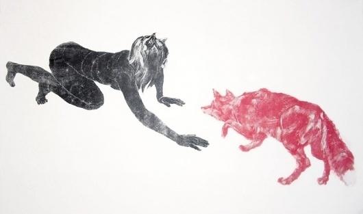 american_coyote.jpg 804×476 pixels #simpson #print #illustration #john #art