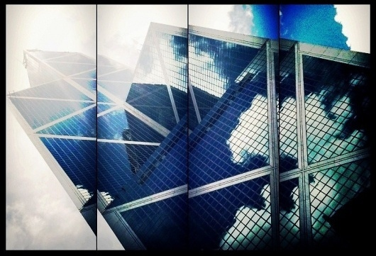 All sizes | Hong Kong Summer in the City | Flickr - Photo Sharing! #kong #sky #montage #iphone #hong #blue