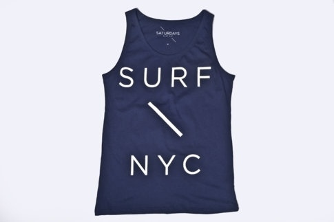 Saturdays Surf NYC | Online Store | Surf Slash Tank #surf #nyc #tee