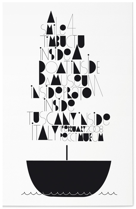 Just My Type #happy #lovers #town #boat #typography