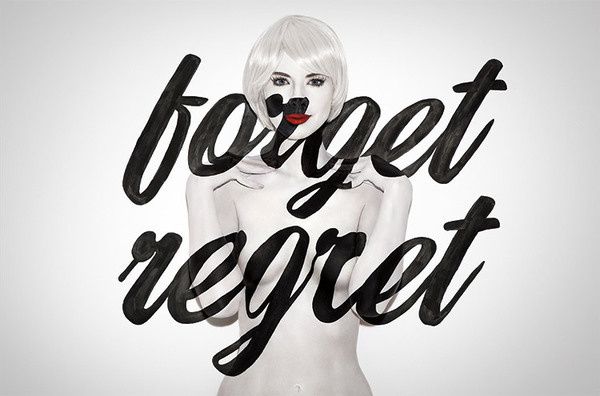 forget regret #type #jessica #walsh