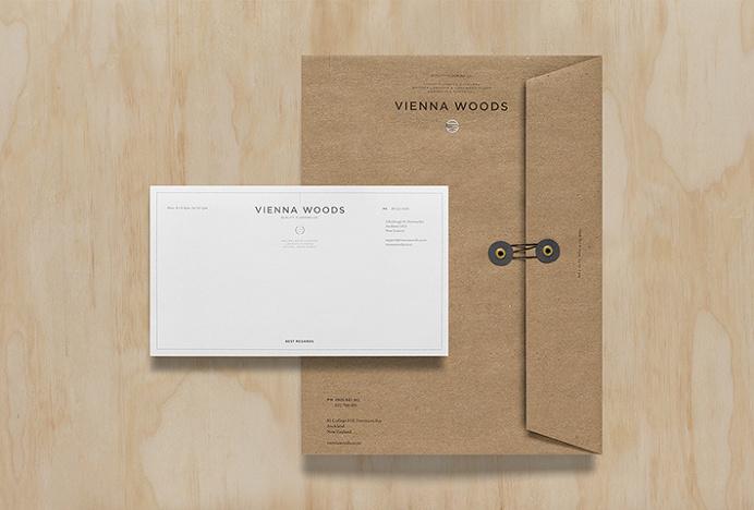 Vienna Woods by Anagrama #folder #envelope #print