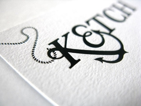 FFFFOUND! | Ketch Brand Identity - FPO: For Print Only