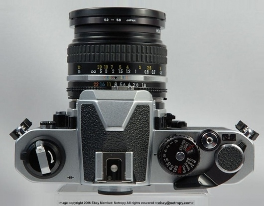 Nikon FM2(n) - Instruction Manual Index Page #camera #fm2n #photography #nikon