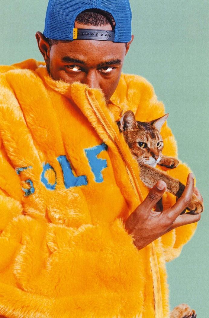 golf wang tyler the creator fw2015 lookbook cat