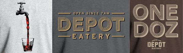 http://eatatdepot.co.nz/ #logo #eatery #food #depot