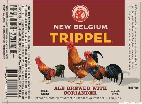 New Belgium Trippel new label #packaging #beer