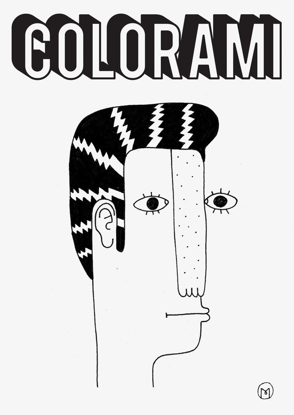Colorami Project Marco Oggian #logo #poster