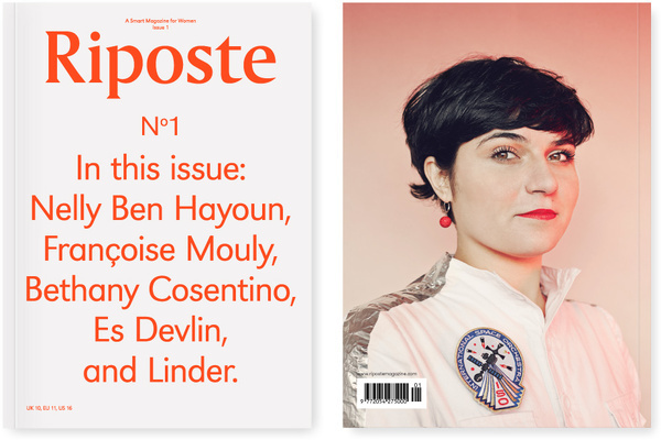 Riposte Magazine #print #book cover