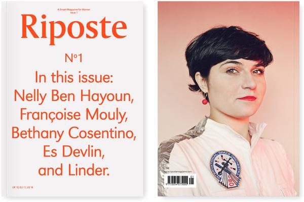 Riposte Magazine #cover #print #book