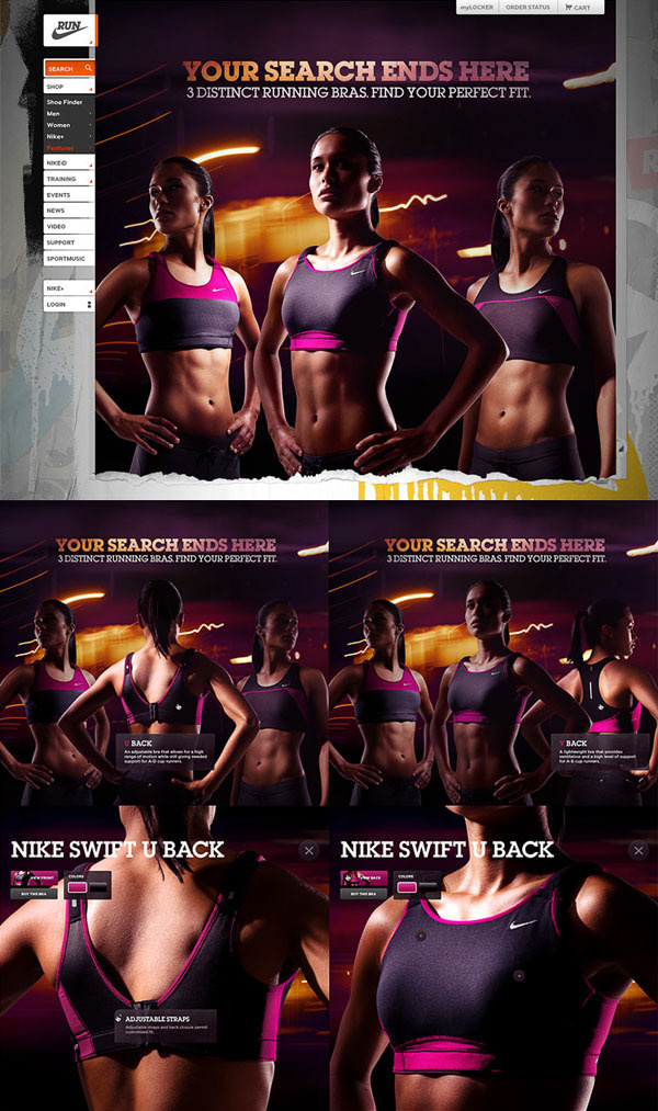Nike Running on the Adweek Talent Gallery #running