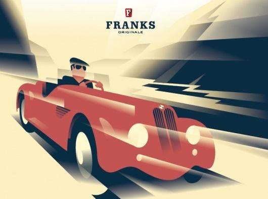 franks3.png 713×529 pixels #illustration #vector #retro