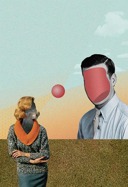 KOLARGE #surrealism #retro #illustrations #surrealist #vintage #collage
