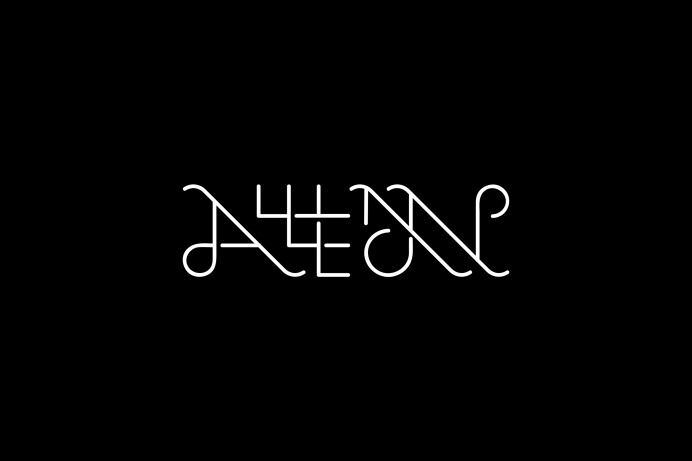 Alllan - Logo #typography #lettering #logo