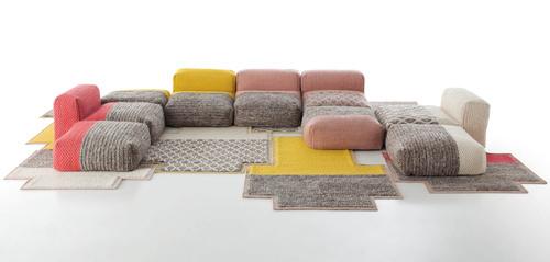 Mangas Space by Patricia Urquiola for Gandia Blasco Photo #sofa #carpet