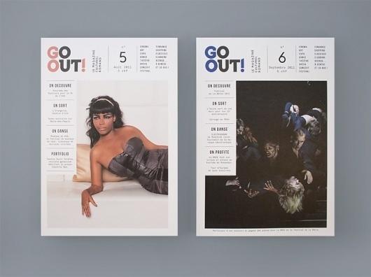 NEO NEO | Graphic Design | Go Out #print