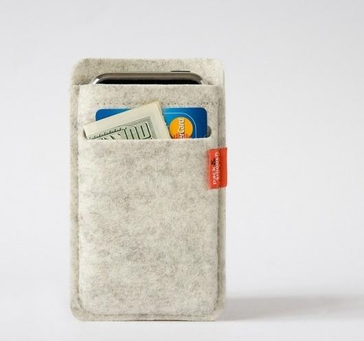 Fancy - Merino Wool iPhone Wallet Case #craft #hard