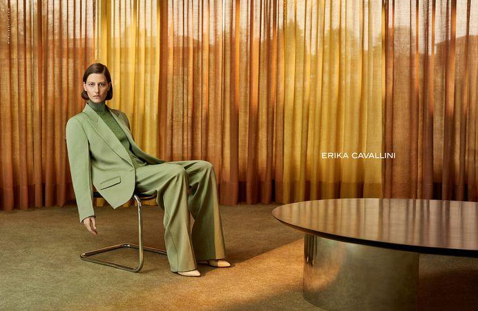Erika Cavallini Fall 2017 Ad Campaign - The Impression, Fashion News